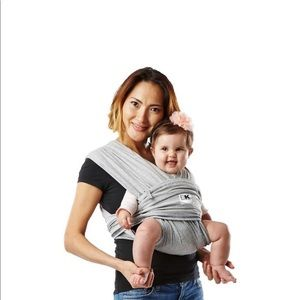 Baby K'Tan Baby Carrier in Gray